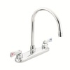 Moen M-Dura Chrome 2-Handle High-Arc Kitchen Faucet