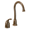 Moen Camerist Oil Rubbed Bronze 1-Handle Bar and Prep Faucet