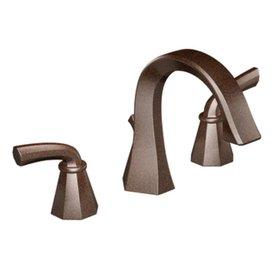 Moen Felicity Oil-Rubbed Bronze 2-Handle Widespread WaterSense Bathroom Faucet