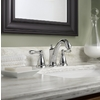 Moen Caldwell Chrome 2-Handle Widespread WaterSense Bathroom Faucet (Drain Included)