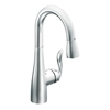 Moen Arbor Chrome 1-Handle Bar and Prep Faucet
