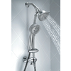 Moen Caldwell 4-in Spot Resist Brushed Nickel Showerhead with Hand Shower