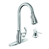 Moen Kipton Chrome 1-Handle Kitchen Faucet