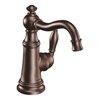 Moen Weymouth 1-Handle Single Hole WaterSense Bathroom Faucet (Drain Included)