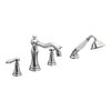 Moen Weymouth 2-Handle Fixed Deck Mount Tub Faucet