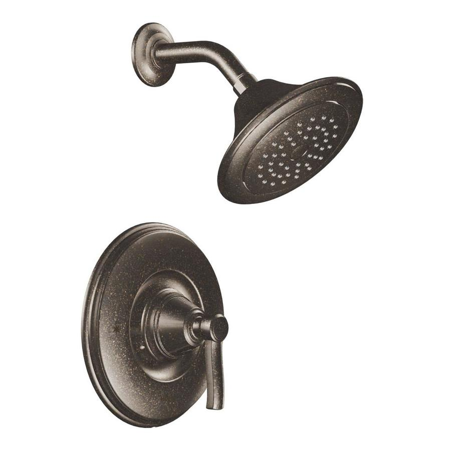 Shop moen rothbury oil rubbed bronze 1 handle shower faucet trim kit with single function - Moen shower faucet ...