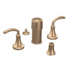 Moen Icon Brushed Bronze Vertical Spray Bidet Faucet Trim Kit