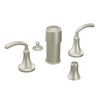 Moen Icon Brushed Nickel Vertical Spray Bidet Faucet Trim Kit