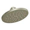 Moen 8-in 2.5-GPM (9.5-LPM) Brushed Nickel Rain Showerhead