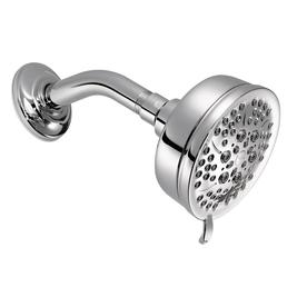 Moen Caldwell 4-in 2.0-GPM (7.6-LPM) Chrome 4-Spray WaterSense Showerhead