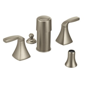 Moen Voss Brushed Nickel Vertical Spray Bidet Faucet Trim Kit