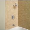 Moen Boardwalk Spot Resist Brushed Nickel 1-Handle WaterSense Bathtub and Shower Faucet with Single Function Showerhead