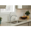 Moen Kinzel Spot Resist Stainless 1-Handle Pull-Out Kitchen Faucet