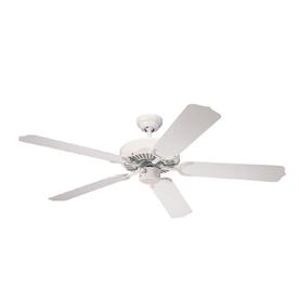 Monte Carlo Fan Company 52-in Weatherford White Outdoor Ceiling Fan ENERGY STAR