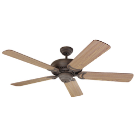 Monte Carlo Fan Company 52-in Designer Supreme Weathered Iron Ceiling Fan
