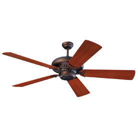 Monte Carlo Fan Company 60-in Grand Prix Roman Bronze Ceiling Fan ENERGY STAR
