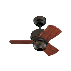 Monte Carlo Fan Company 24-in Micro Roman Bronze Outdoor Ceiling Fan