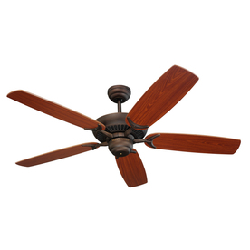 Monte Carlo Fan Company 52-in Colony Roman Bronze Ceiling Fan ENERGY STAR