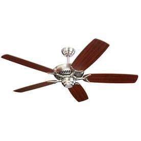 Monte Carlo Fan Company Colony 52-in Brushed Steel Multi-Position Ceiling Fan ENERGY STAR