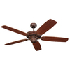 Monte Carlo Fan Company 52-in Colony Tuscan Bronze Ceiling Fan ENERGY STAR