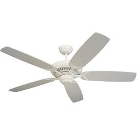Monte Carlo Fan Company 52-in Colony White Ceiling Fan ENERGY STAR
