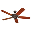 Monte Carlo Fan Company 52-in Mansion Roman Bronze Ceiling Fan ENERGY STAR