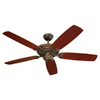 Monte Carlo Fan Company 52-in Mansion Tuscan Bronze Ceiling Fan ENERGY STAR