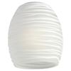 Monte Carlo Fan Company White Rope Ceiling Fan Light Kit