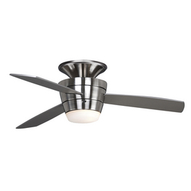 "allen + roth 44"" Mazon Brushed Steel Ceiling Fan"