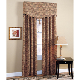 ... Selections Chateau 84-in L Rod Pocket Window Curtain Panel at Lowes