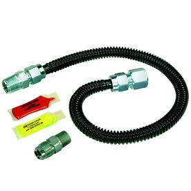 BrassCraft 24-in 1-PSI Stainless Steel Gas Appliance Installation Kit