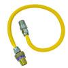 BrassCraft Gas Connector with Gas Safety Valve