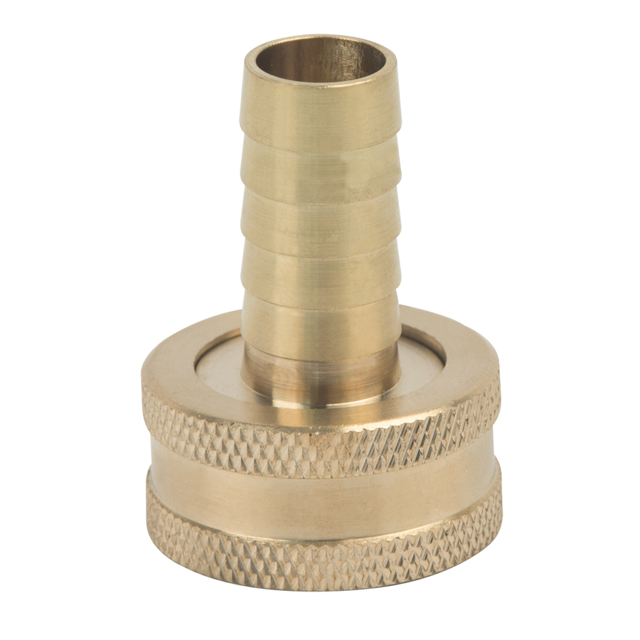 BrassCraft 1/2 in x 3/4 in Barbed Barb x Garden Hose Adapter Fitting