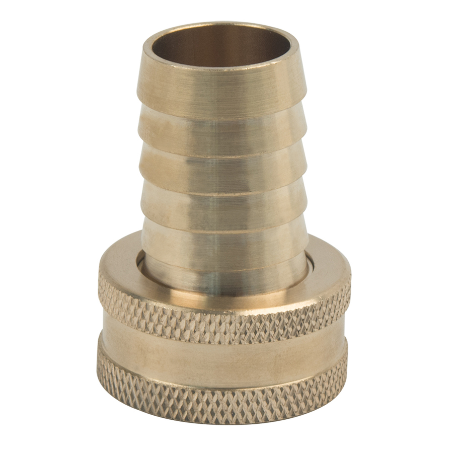 BrassCraft 3/4 in x 3/4 in Barbed Barb x Garden Hose Adapter Fitting