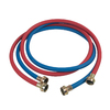 BrassCraft 2-Pack 6-ft 125-PSI Rubber Washing Machine Fill Hose