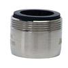 BrassCraft 15/16-in 27 Male and 55/64-in 27 Female Thread Nickel Slotless Aerator