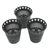BrassCraft 3-Pack Black Plastic Drain Covers
