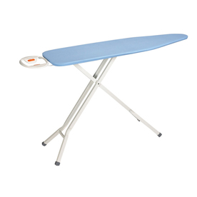 Style Selections 4-Leg Folding Ironing Board with Fixed Iron Rest