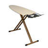 Household Essentials Wide Top Bamboo 4-Leg Ironing Board