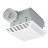 Broan 2.5-Sone 80 CFM White Bathroom Fan