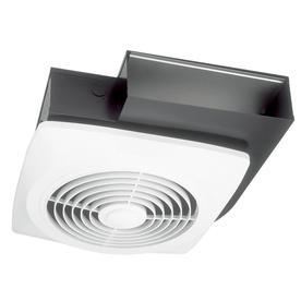 Broan 8-Sone 270-CFM White Bathroom Fan