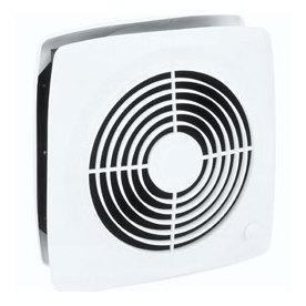 Broan 6.5-Sone 380-CFM White Bathroom Fan