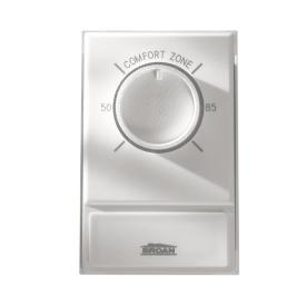 Broan Rectangle Mechanical Non-Programmable Thermostat