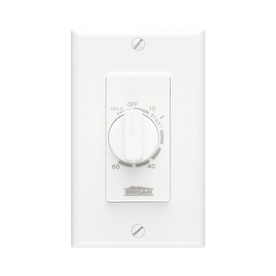Broan White Light Switch