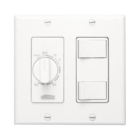 Broan White Light Switch