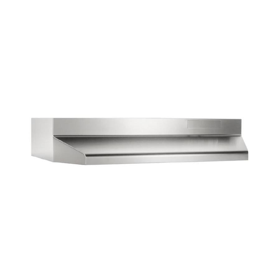 Lowe S Range Hoods ~ Shop broan undercabinet range hood stainless steel