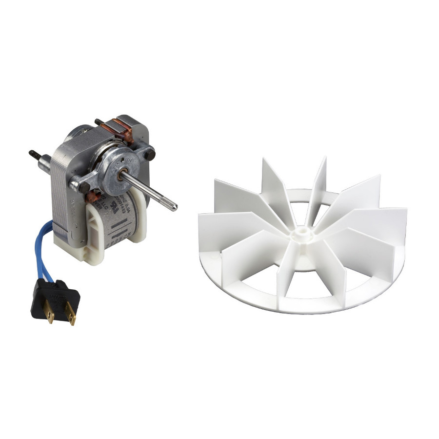 Shop broan metal bath fan motor at for Bathroom exhaust fan replacement