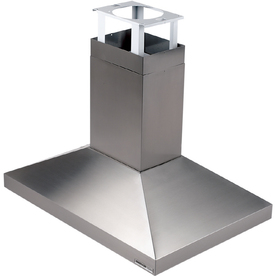 Broan Ducted Island Range Hood (Stainless Steel) (Common: 40-in; Actual 39.37-in)