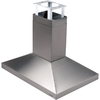 Broan 39.37-in Island Range Hood (Stainless Steel)