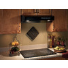 Broan 30-in Undercabinet Range Hood (Black)